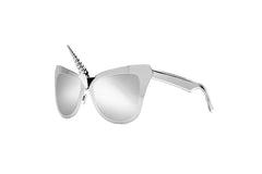 The Original Silver Unicorn Horn Sunglasses