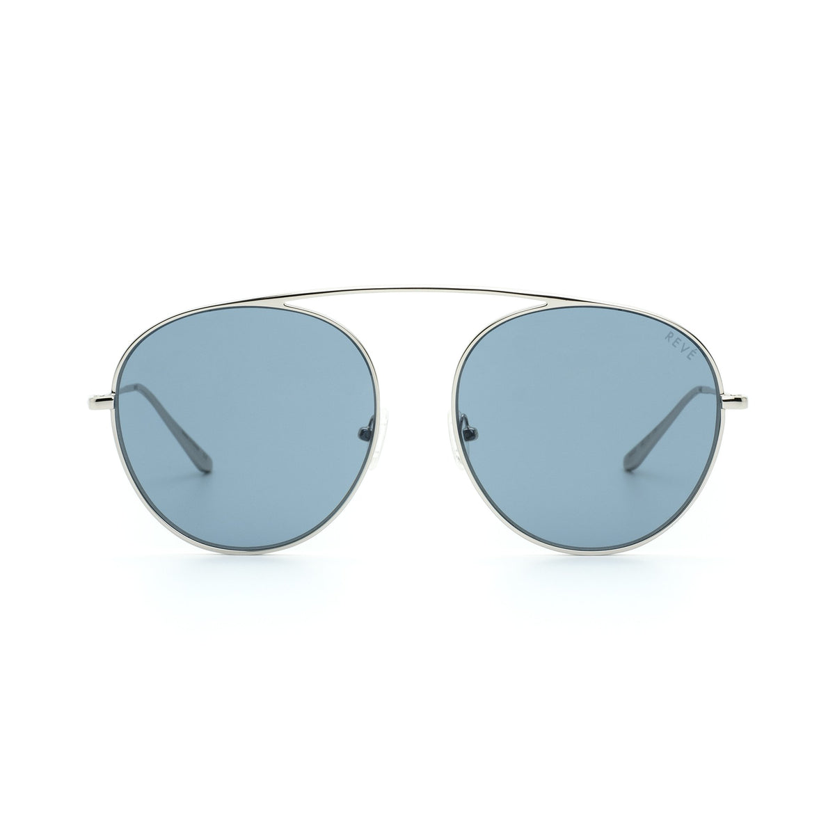 4AM | Dark Aquamarine Blue | Aviator Sunglasses - Asian Fit