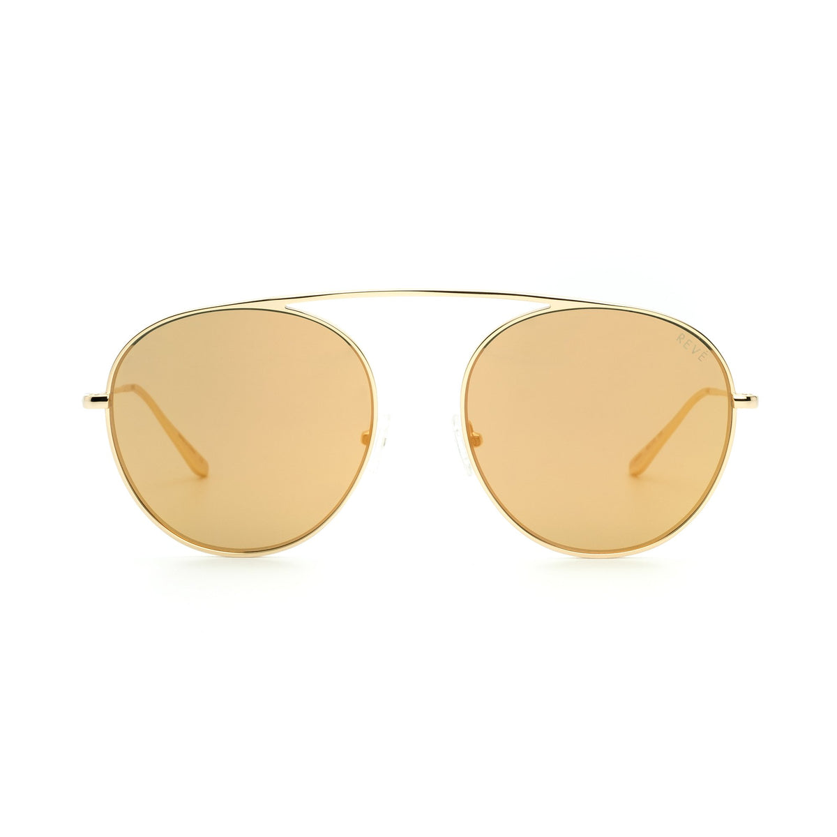 4AM | Gold | Aviator Sunglasses - Asian Fit