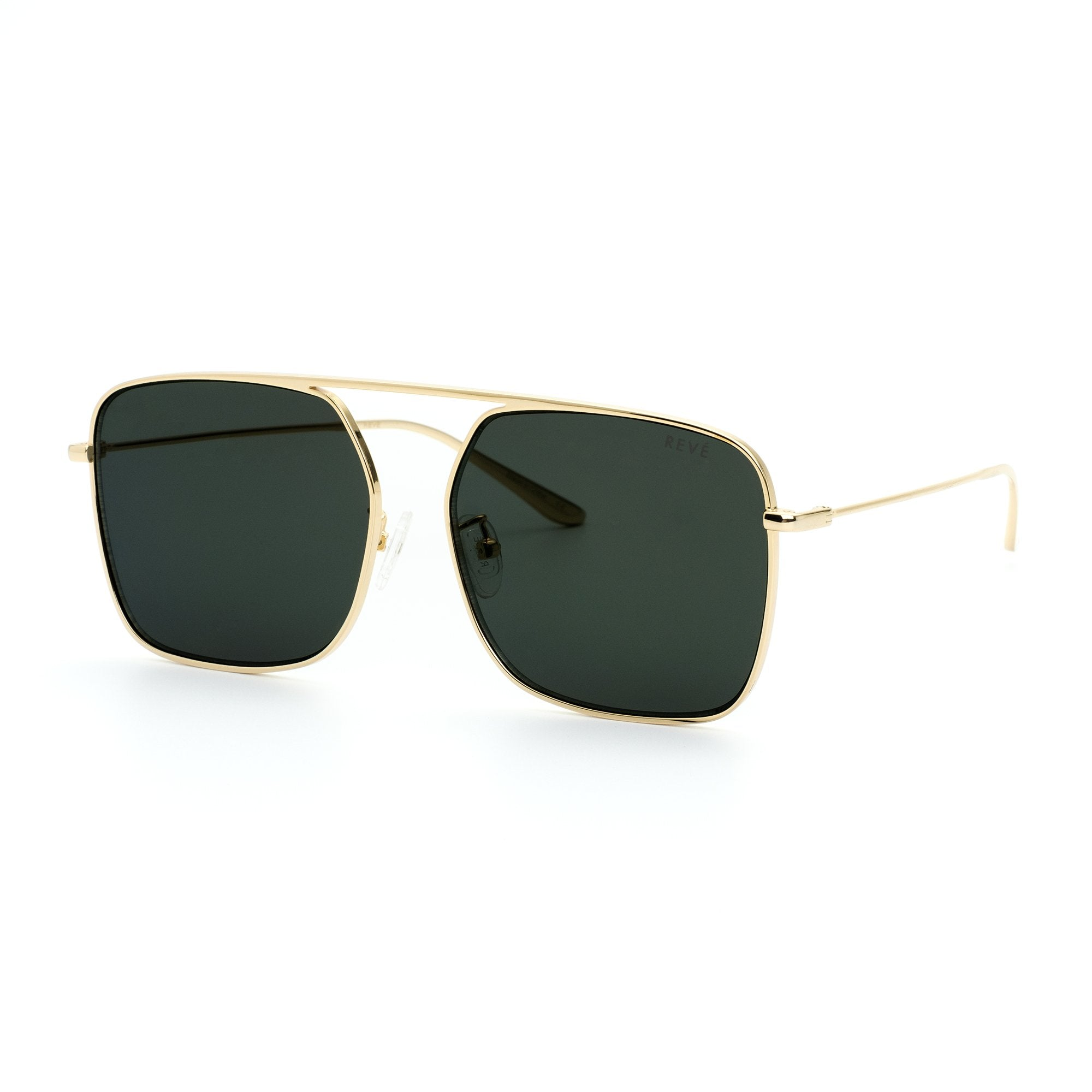 REVE by RENE BPM aviator sunglasses in black