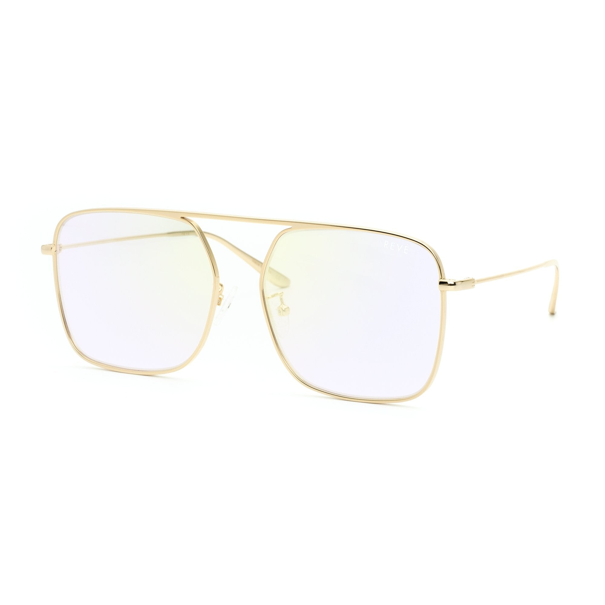 REVE by RENE BPM square aviator sunglasses | Unicorn sunglasses