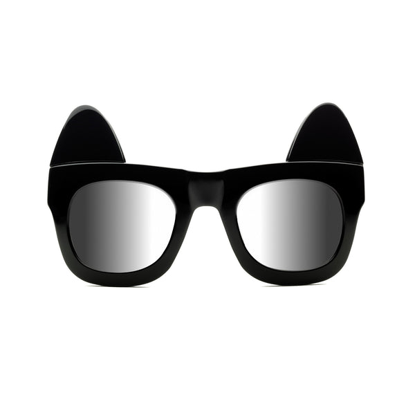 (Custom Made) Make Me Meow - Black Eyelash Sunglasses | REVE by RENE