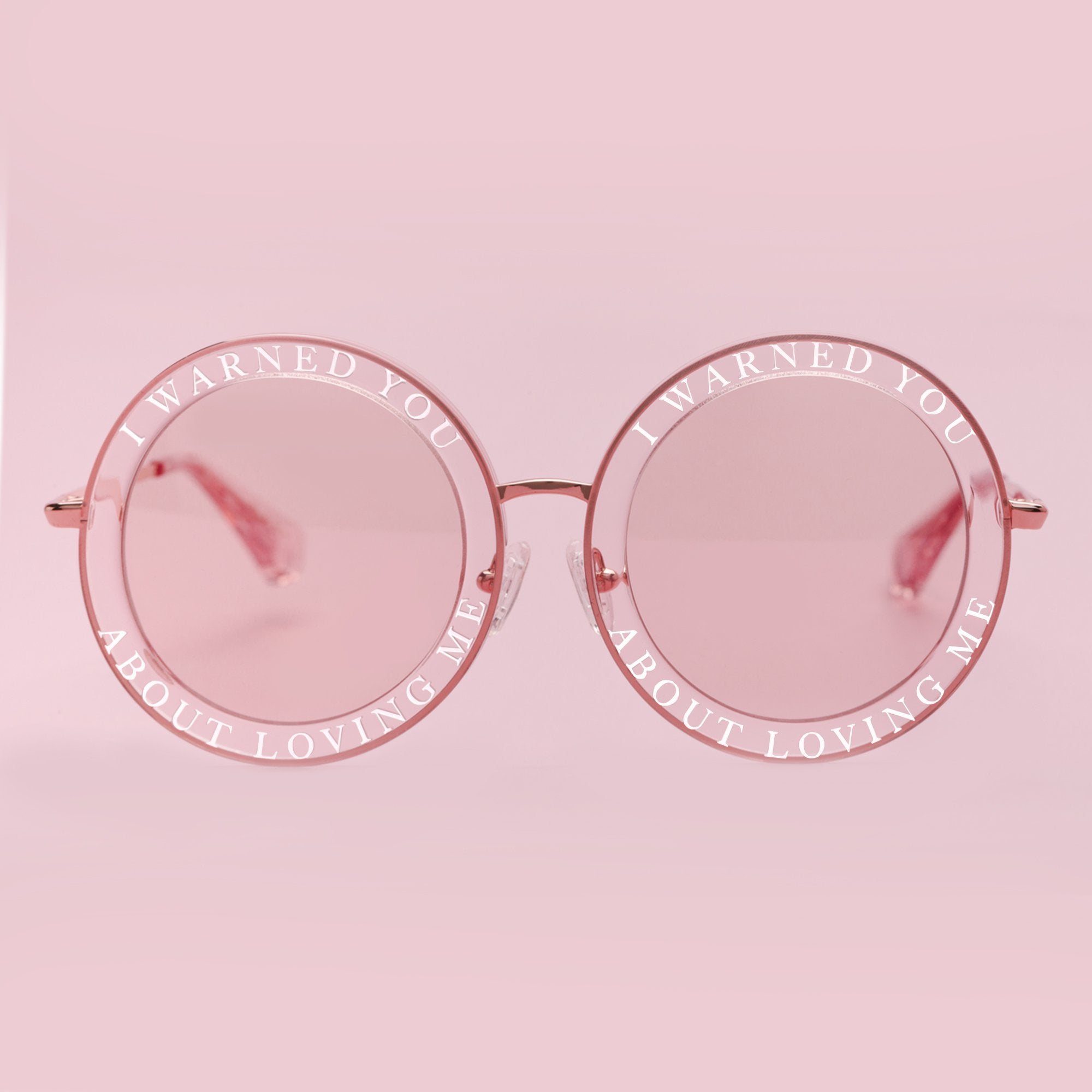 Reve by Rene Honey Trap sunglasses in Pink