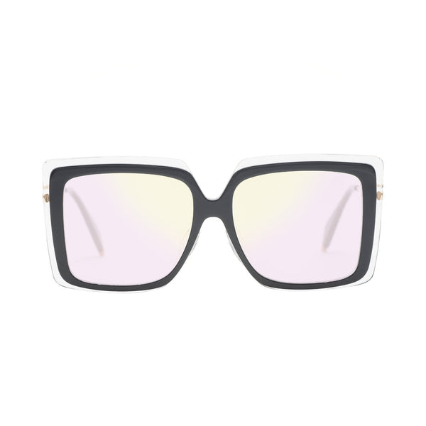 Couldn't Care Less | Crystal Oversize Square sunglasses | Boyish | REVÉ by RENÉ