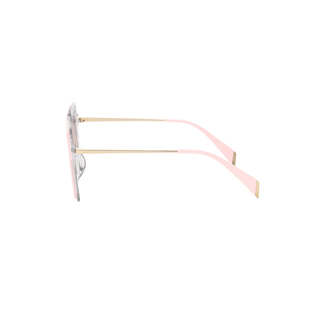 Couldn't Care Less | Nude Pink Oversize Square sunglasses | Boyish | REVÉ by RENÉ