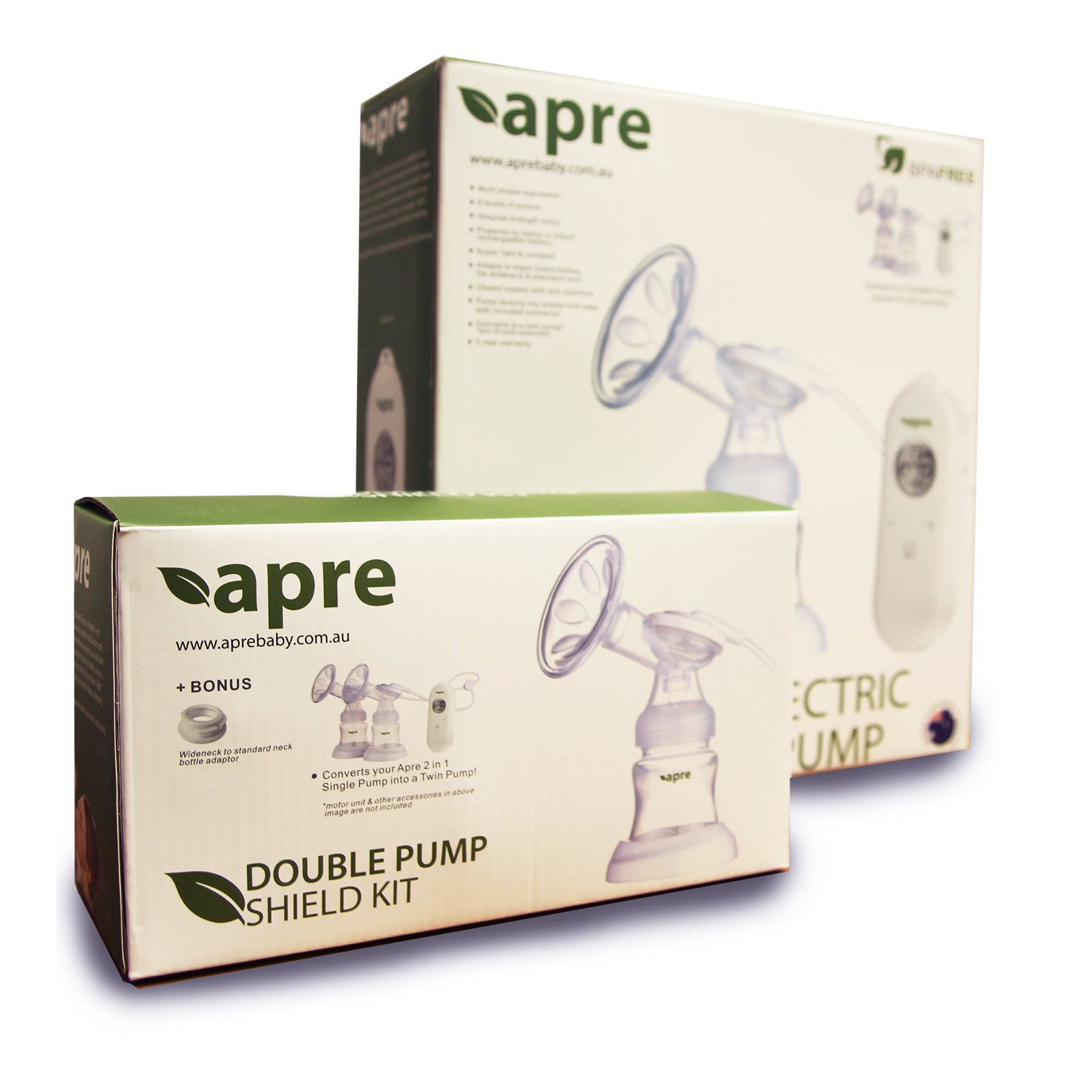 Apre Baby 2 in 1 Twin Electric Breast Pump 2021