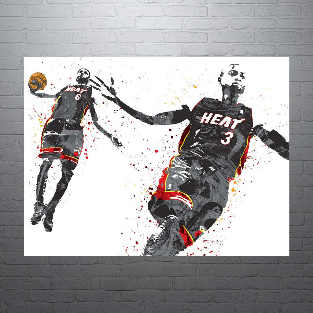 1 DWAYNE WADE Photo Quality Poster Choose a Size