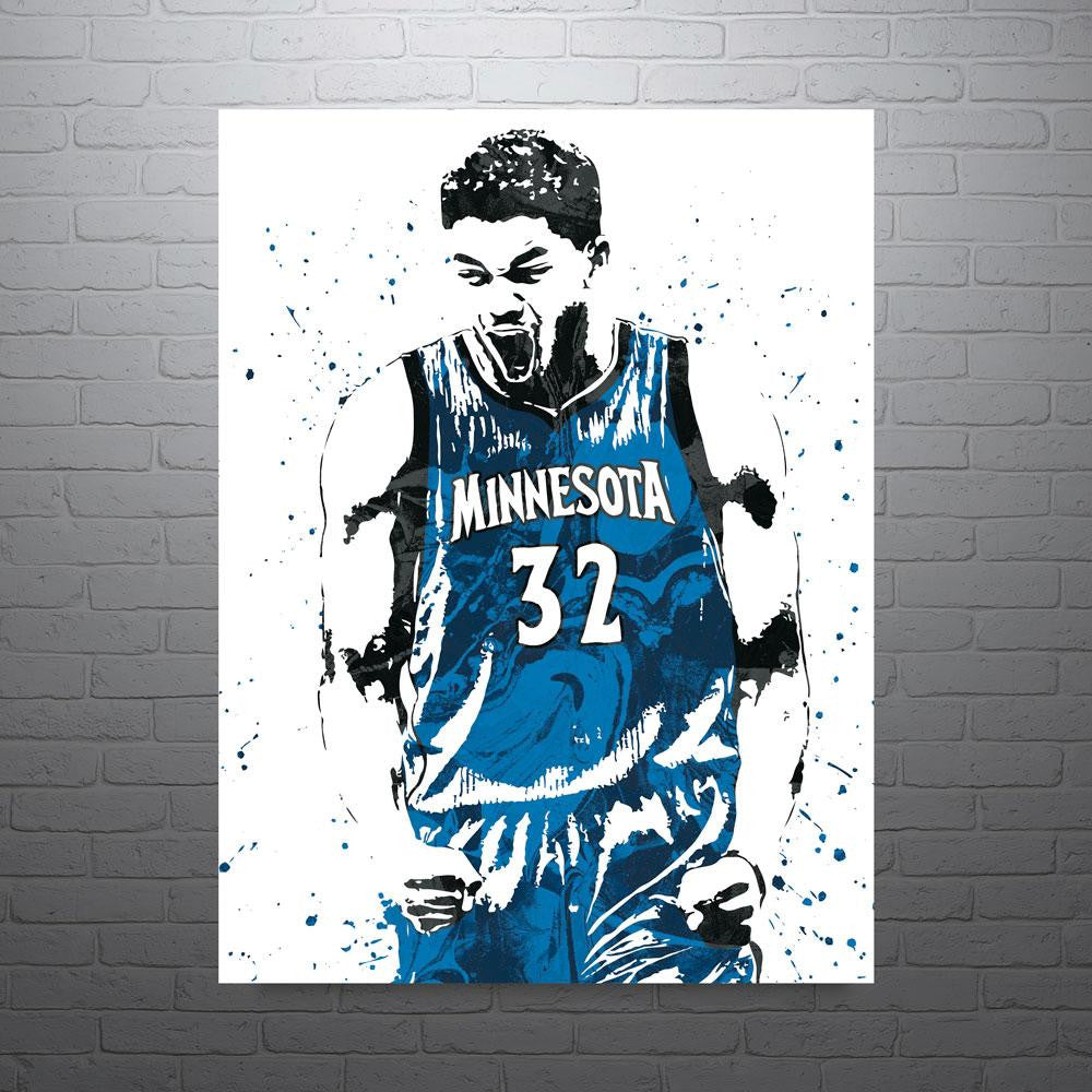 Karl Anthony Towns Minnesota Timberwolves Poster Fanatic Posters