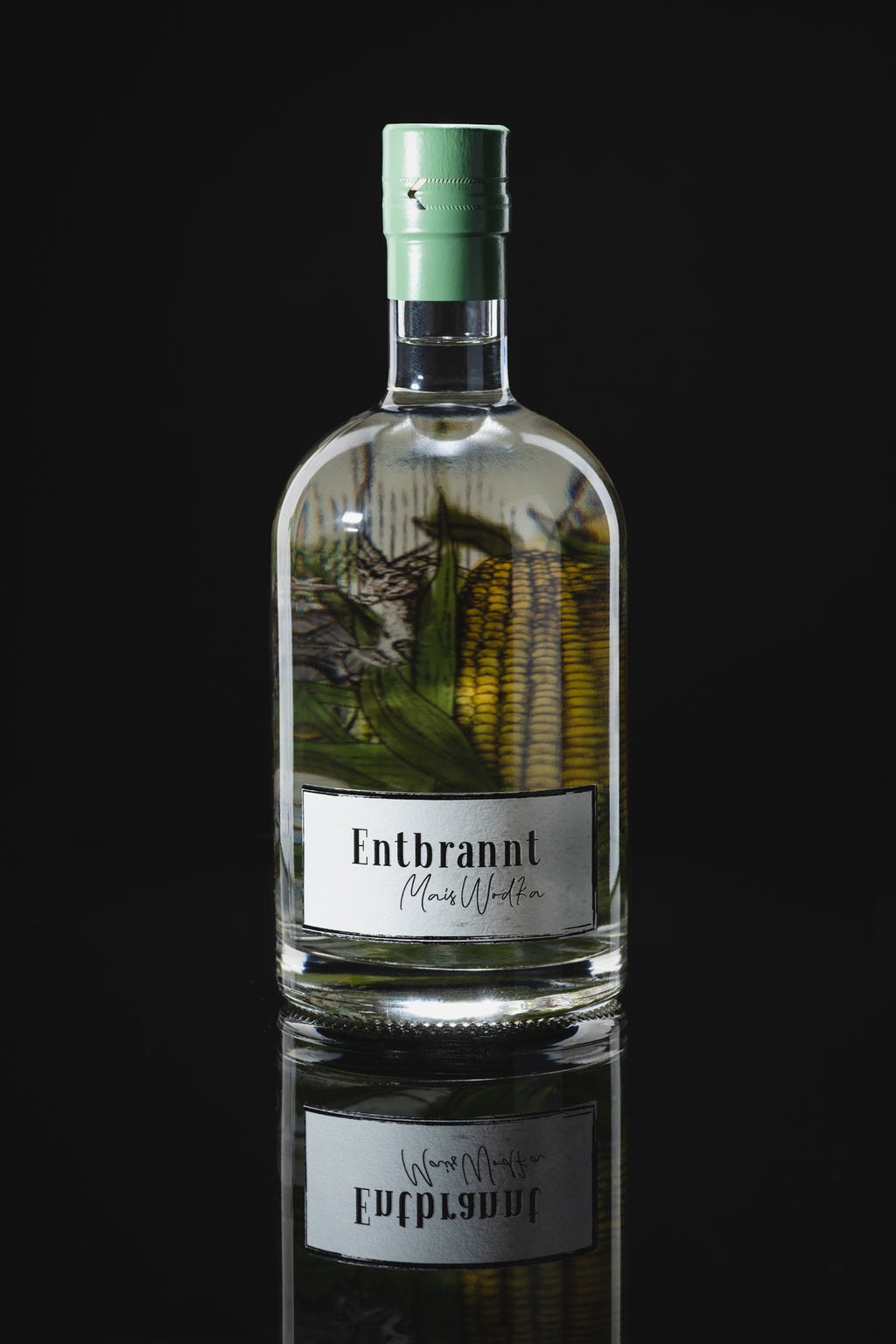 Entbrannt Mais Wodka 0,5l 40% Vol.