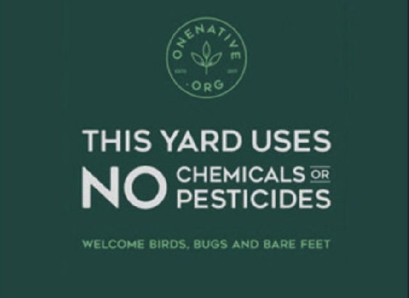 No chemicals or pesticides