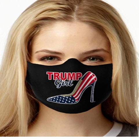 Trump Girl Face Mask