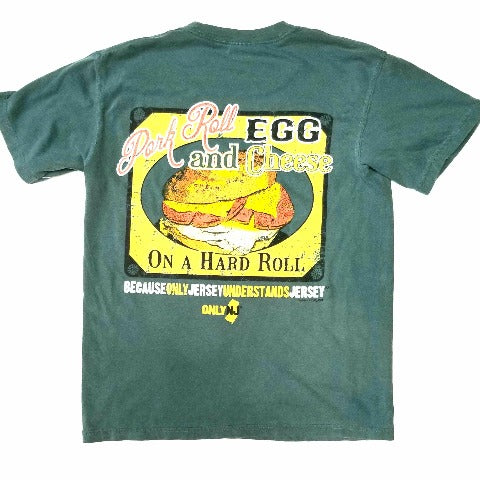 Pork Roll Egg and Cheese on a Hard Roll T Shirt