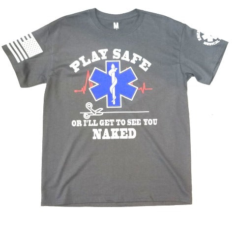 EMS Play Safe T Shirt