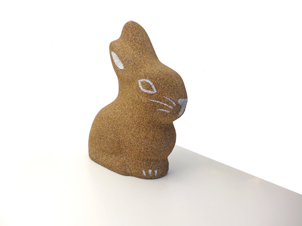 Cork Bunny In Sughero Biondo Greencorks Collection