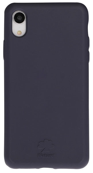 Custodia Cover iPhone XR iNature 100% Biodegradabile Ecologica Blue