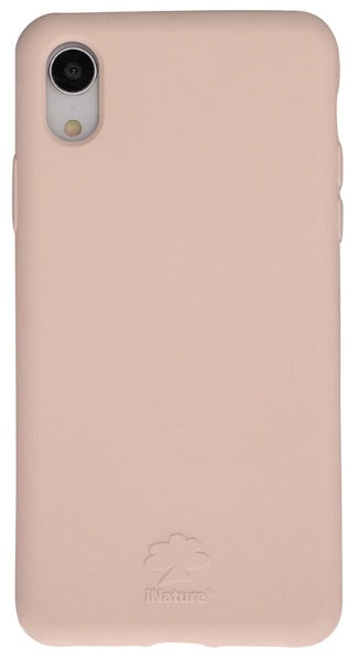 Custodia Cover iPhone XR iNature 100% Biodegradabile Rose
