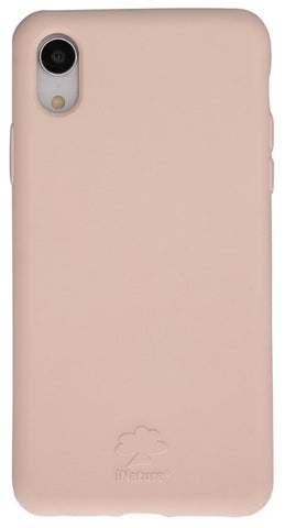 Custodia Cover iPhone XR iNature 100% Biodegradabile Ecologica Rose