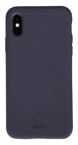 Custodia Cover iPhone XS iNature 100% Biodegradabile Ecologica Blue