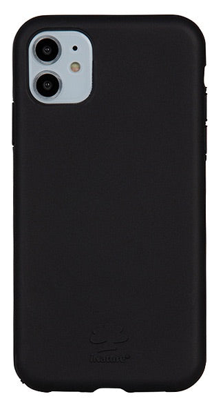 Cover iPhone 11 iNature 100% Biodegradabile Ecologica Black