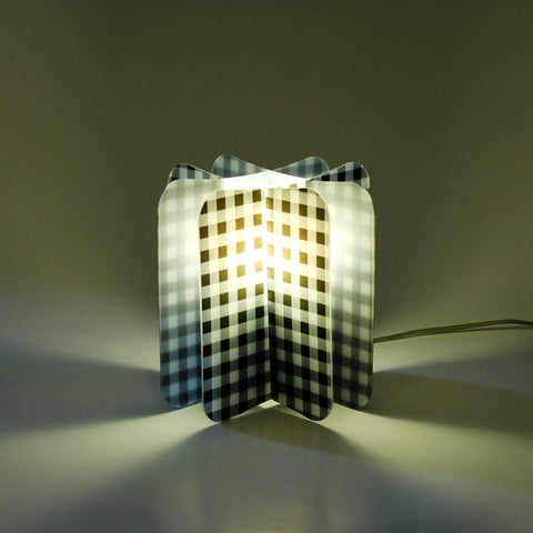 Lampada Ecologica Abat-Jour Picnic Join Lamp Patterns Remind Nero