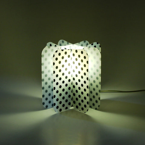 Lampada Ecologica Abat-Jour Pois Join Lamp Patterns Remind Nero