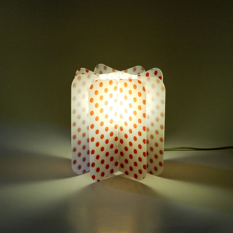 Lampada Ecologica Abat-Jour Pois Join Lamp Patterns Remind Rosso