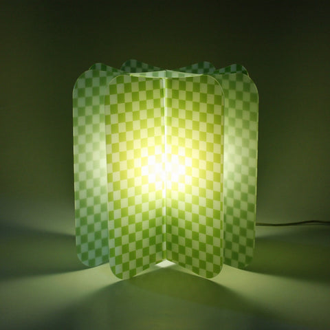 Lampada Da Tavolo Ecologica Chess Join Lamp Patterns Remind Verde