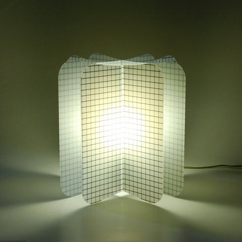 Lampada Da Tavolo Ecologica Net Join Lamp Patterns Remind Nero