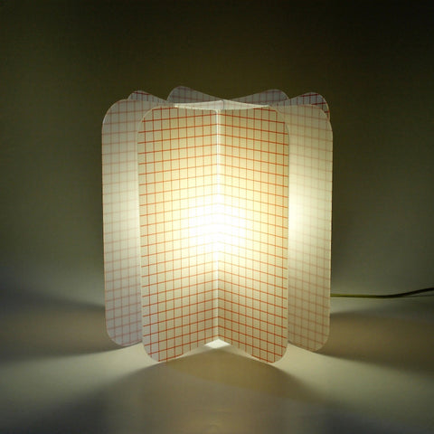 Lampada Da Tavolo Ecologica Net Join Lamp Patterns Remind Rosso