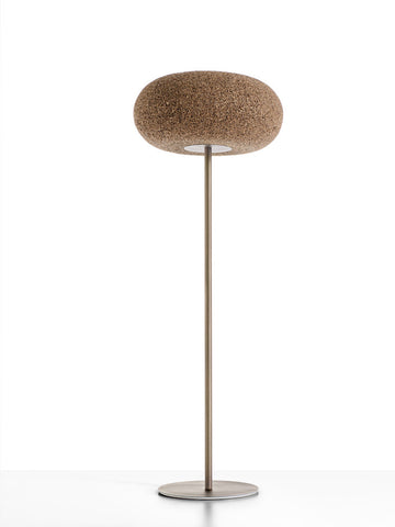 Lampada Piantana In Sughero Home Lamp Greencorks Collection
