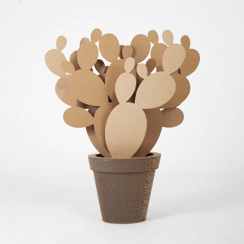 Vaso In Cartone Fico D'India Large NextMaterials CactusHome