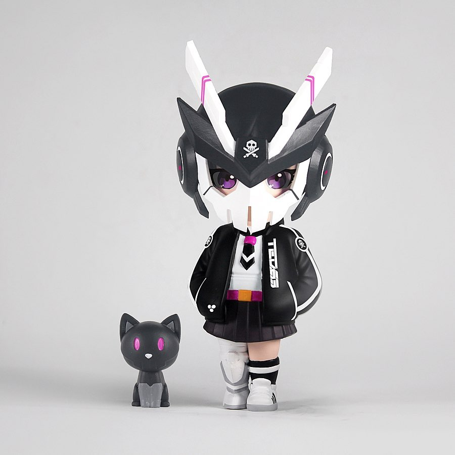 "Quiccs x Devils Toys - 5.2"" MARIKO (OG Black) - Collect and Display"