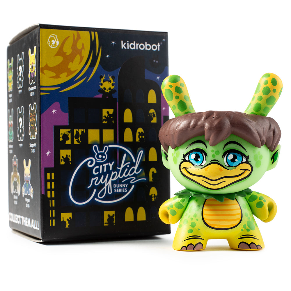 "Kidrobot - 3"" City Cryptid Dunny Series (Blind Box) - Collect and Display"