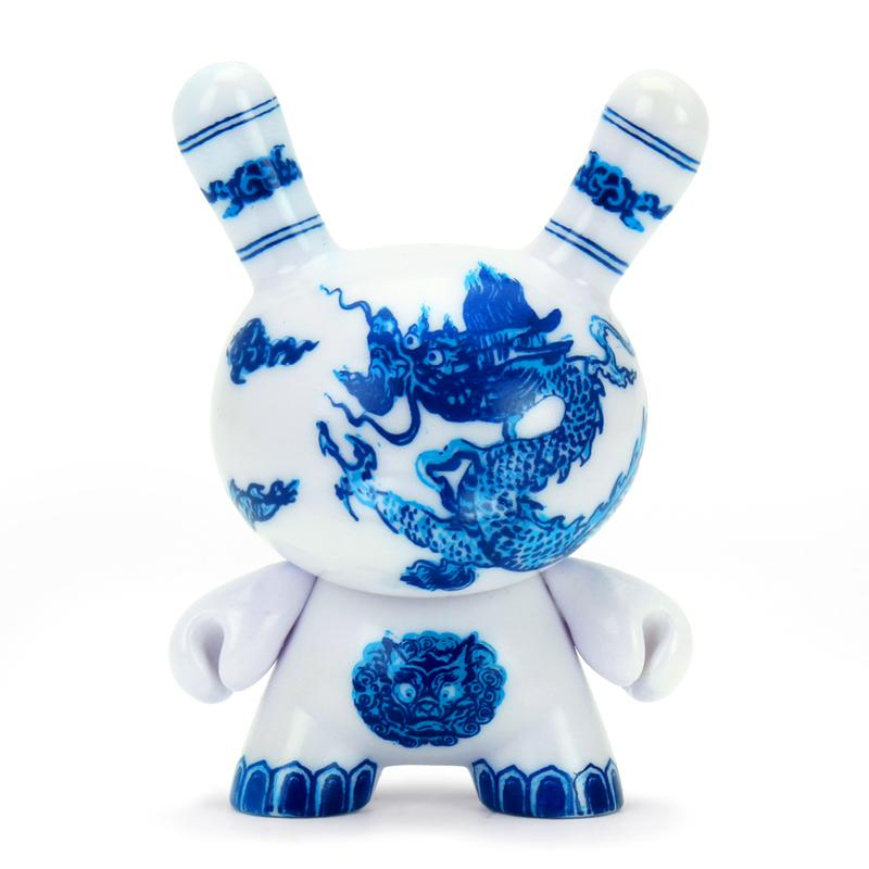 "Kidrobot x The Met 3"" Showpiece Dunny - Chinese Dragon Panel"