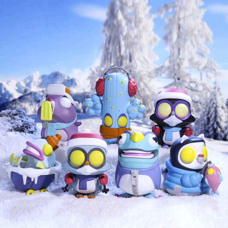 Coarse x POPMART - Little Voyagers Sub-Zero Winter Series 1