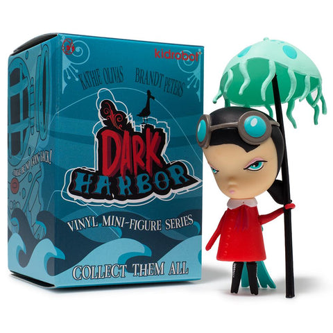 "Kidrobot x Kathie Olivas & Brandt Peters - 3"" Dark Harbour Mini Series (Blind Box) - Collect and Display"