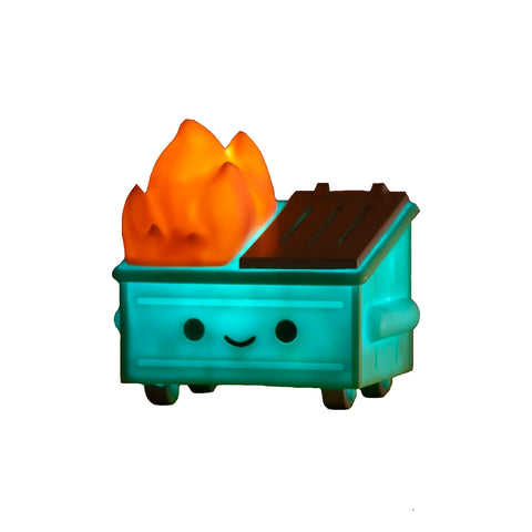 "100% Soft - 3.5"" Lil Dumpster Fire Night Light"