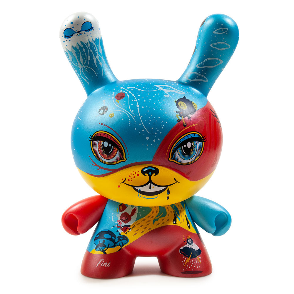 "Kidrobot x 64 Colors - 8"" Good 4 Nothing Dunny - Collect and Display"