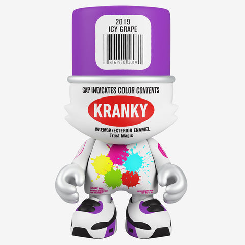 "Superplastic x Sket One - 8"" SuperKranky (Icy Grape) - Collect and Display"