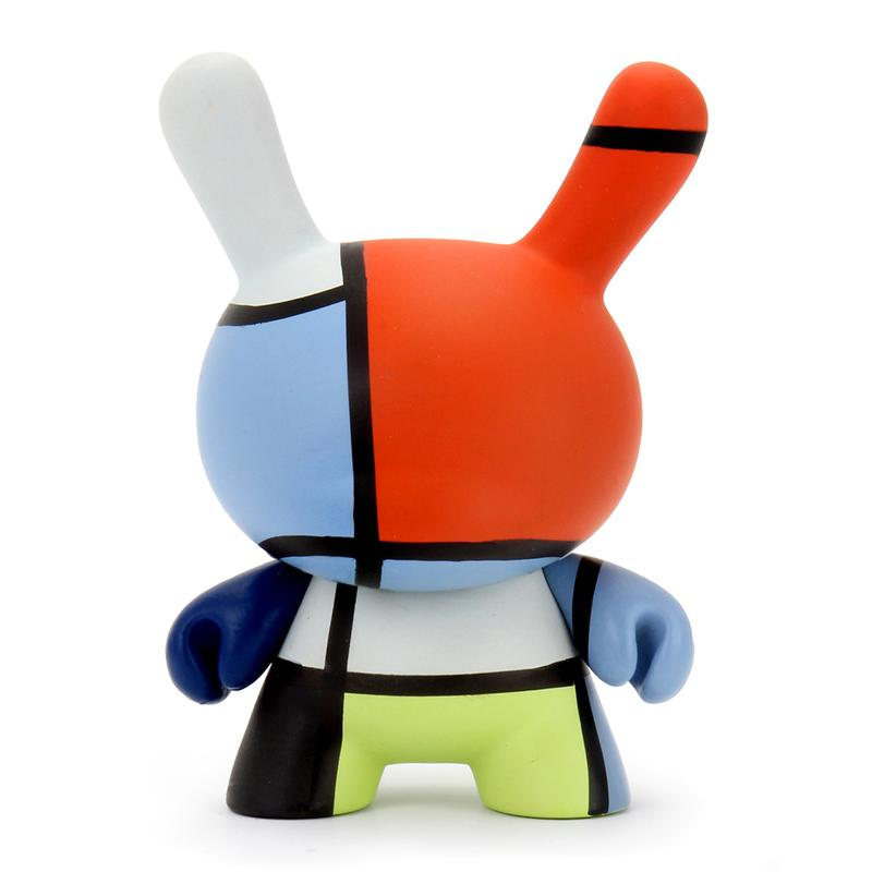 "Kidrobot x The Met Collection 3"" Showpiece Dunny - Mondrian Composition"
