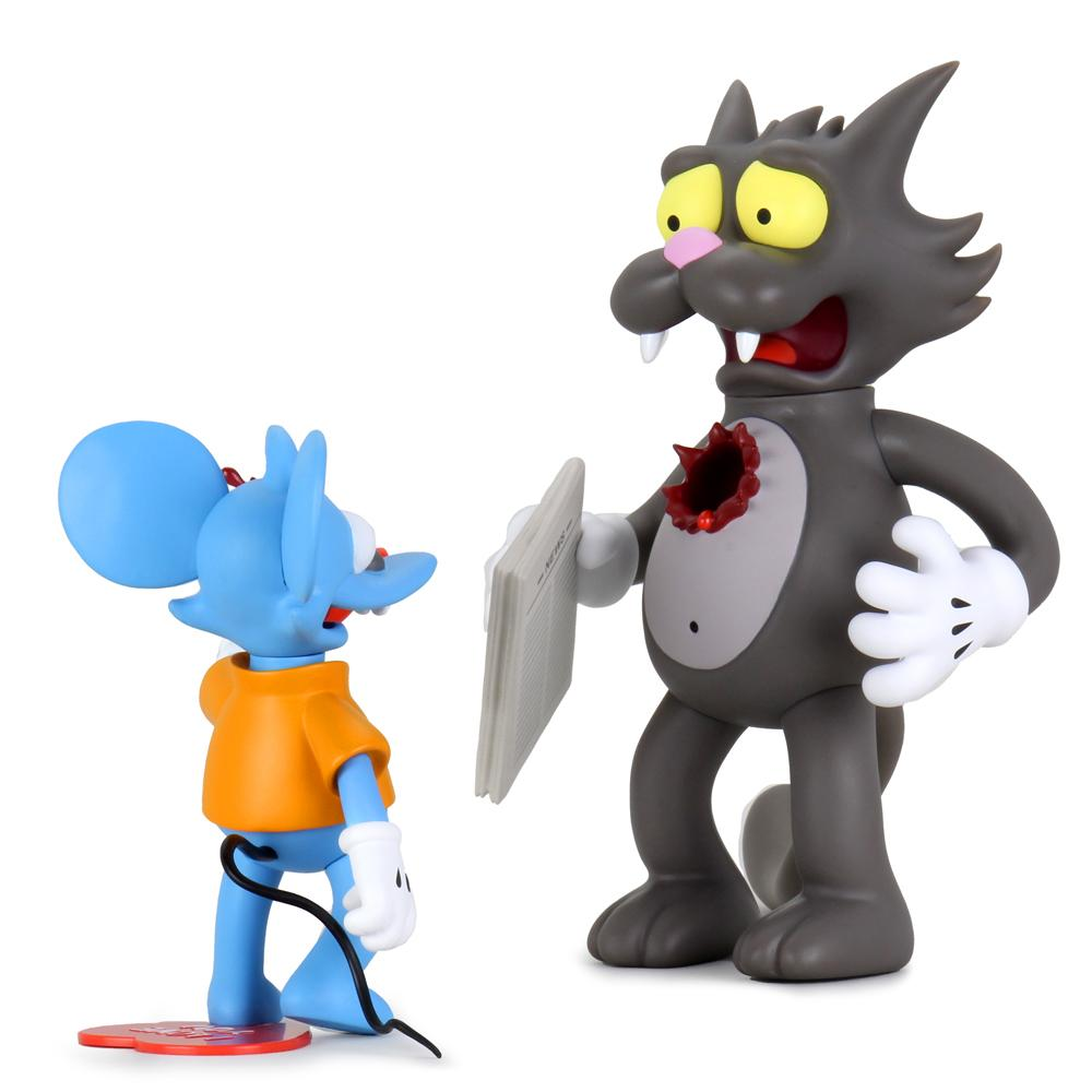 Kidrobot x The Simpson - Itchy and Scratchy