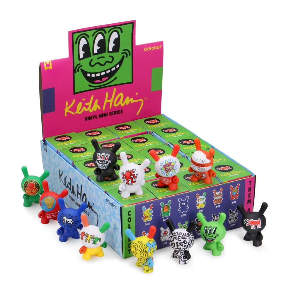 "Kidrobot x Keith Haring 3"" Dunny Series (Blind Box)"