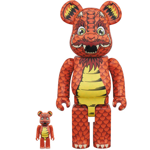 Medicom Toy x Steve Caballero - 400% + 100% Be@rbrick Set - Collect and Display