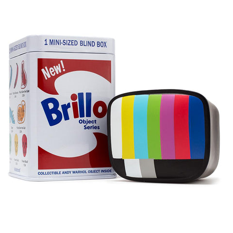 "Kidrobot x Andy Warhol - 3"" Brillo Box Mini Series - Collect and Display"