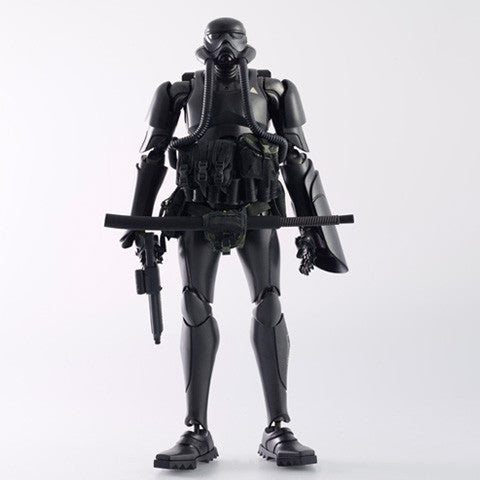 "ThreeA x Ashley Wood - 13"" Showa TK Trooper V2 (Black Sun Commando) - Collect and Display"