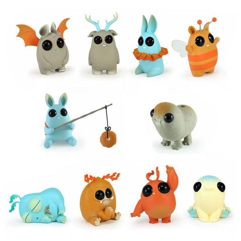 "Chris Ryniak x Amanda Louise Spayd - 3"" Thimblestump Hollow 'Carnival Edition' (Blind Box) - Collect and Display"