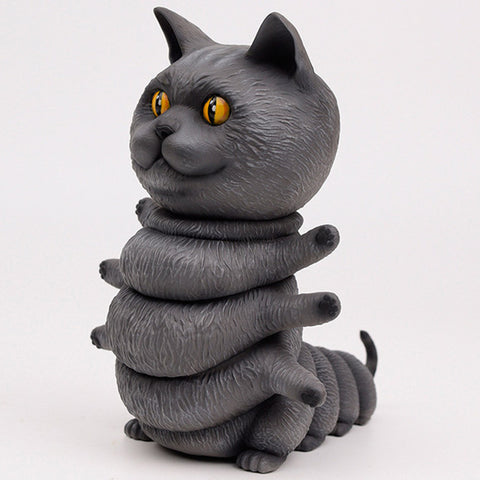 "ThreeA x Casey Weldon - 8"" Kittypillar (Chartreux) - Collect and Display"