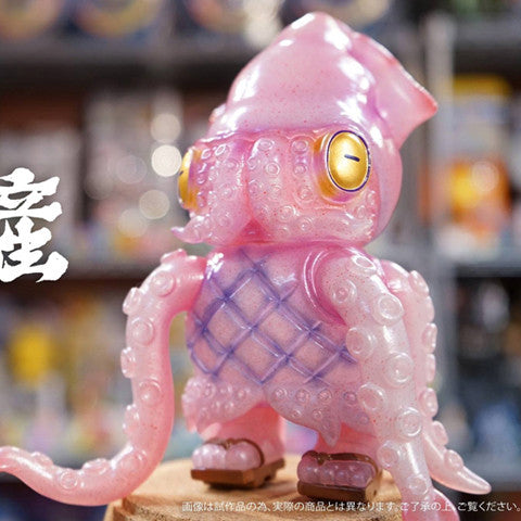 "Mame Moyashi - 4.75"" Squid Chef Squidiano - Collect and Display"