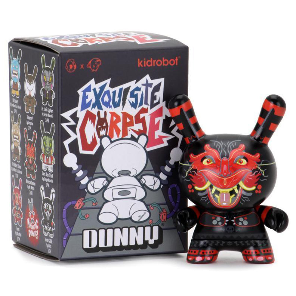 Exquisite Corpse Dunny Series! Interchangeable Designs! from Kidrobot!