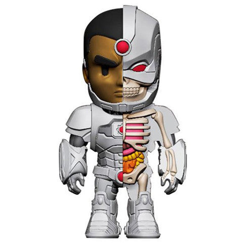 "Jason Freeny x Mighty Jaxx x DC Comics - 4"" XXRAY Cyborg - Collect and Display"